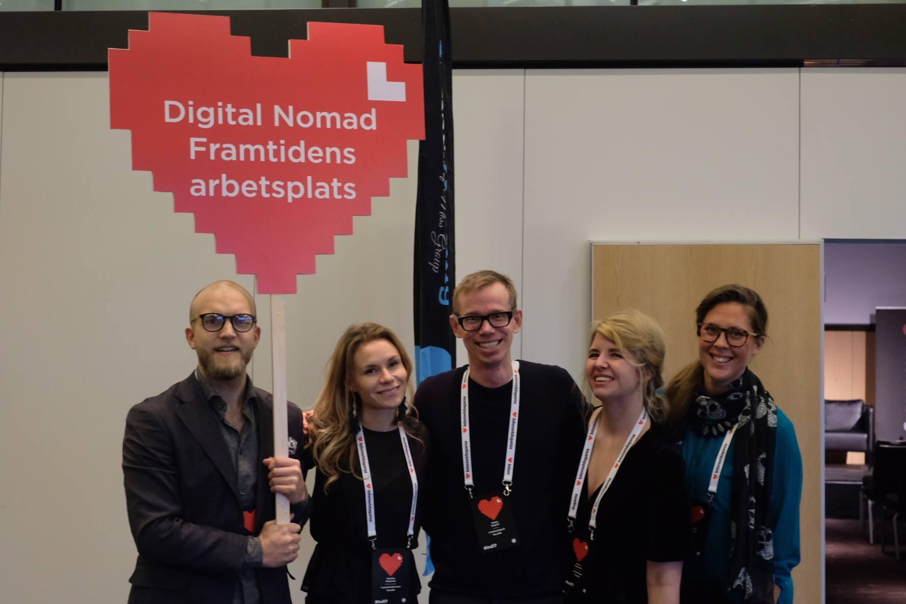 Internetdagarna 2017: Digital nomads and the future of work